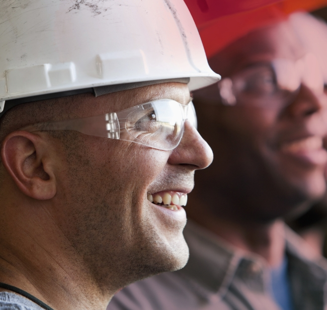 fuel technician smiling